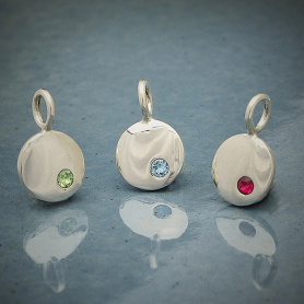Sterling Silver Birthstone Charms - Express Order Form DISCONTINUED