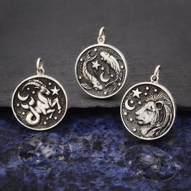 Sterling Silver Double Sided Astrology Pendant - Express Order Form