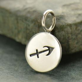 Sterling Silver Zodiac Charm - Sagittarius