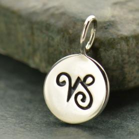 Sterling Silver Zodiac Charm - Capricorn
