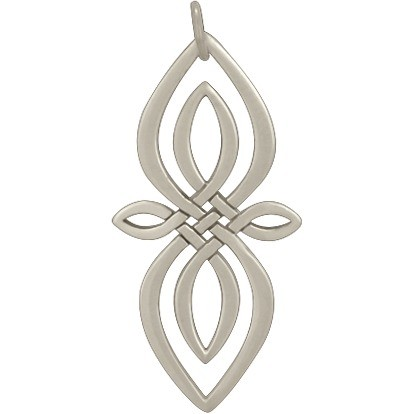 Sterling Silver Celtic Knot Charm - Infinity