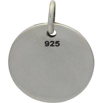 Sterling Silver Friendship Charm  -Arrows on Charm 16x12mm