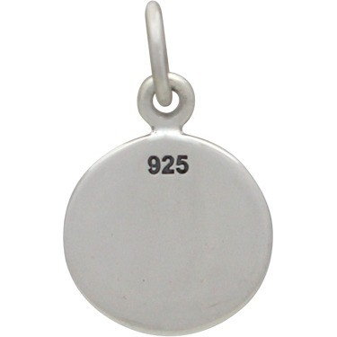 Sterling Silver Runner Charm - Sports Charms 16x10mm