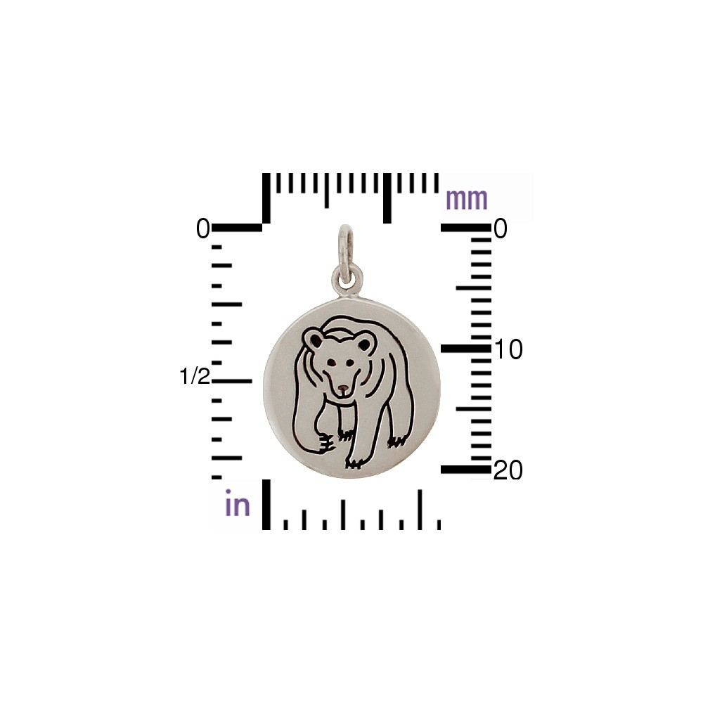 Sterling Silver Bear Charm - Spirit Animal DISCONTINUED