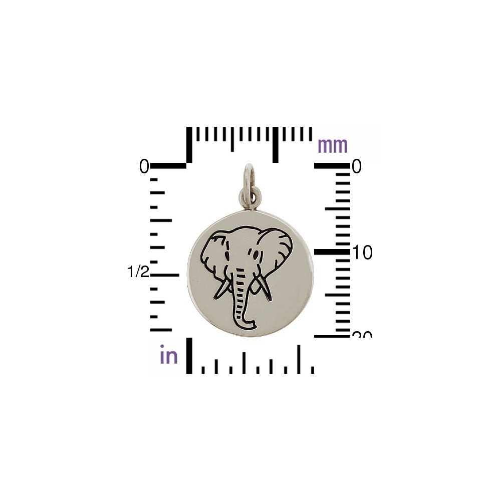 Sterling Silver Elephant Charm - Spirit Animal DISCONTINUED