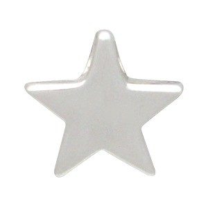 Sterling Silver Beads - Small Star 9x9mm