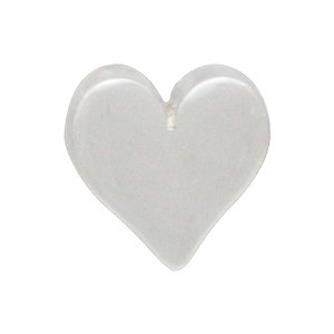 Sterling Silver Beads - Small Heart 7x8mm