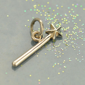 Sterling Silver Wand Charm