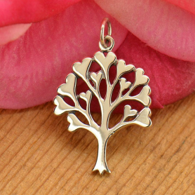 Sterling Silver Family Tree Pendant