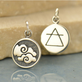 Sterling Silver Air Charm - Four Elements