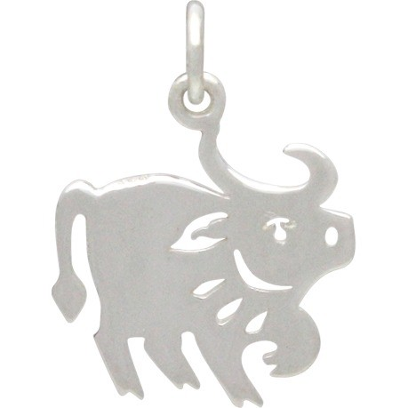 Sterling Silver Chinese Zodiac Charm - Ox