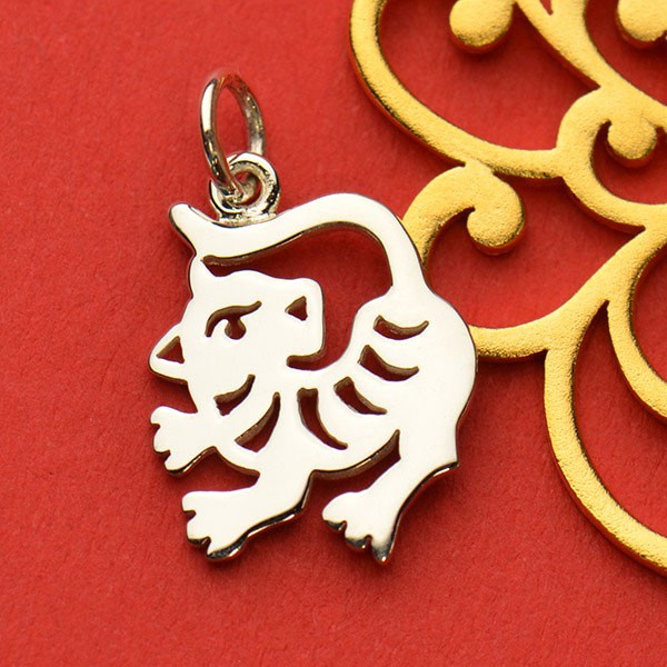 CHINESE TIGER JADE ZODIAC ANIMAL HOROSCOPE HANDBAG KEYRING CHARM BIRTHDAY PARTY