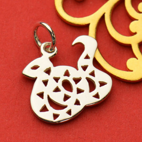 Sterling Silver Chinese Zodiac Charm - Snake