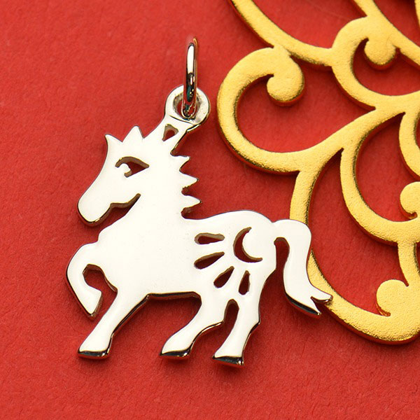 Sterling Silver Chinese Zodiac Charm Horse Product Details Nina Designs
