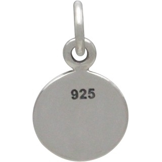 Sterling Silver Equality Sign Charm 14x8mm