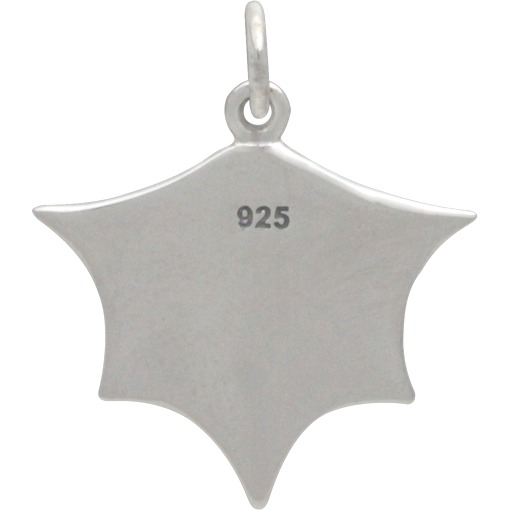Sterling Silver Bat Wing Charm