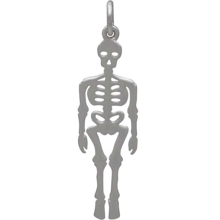 Sterling Silver Skeleton Charm