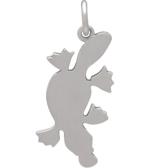 Sterling Silver Platypus Charm