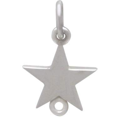 Sterling Silver Star Link