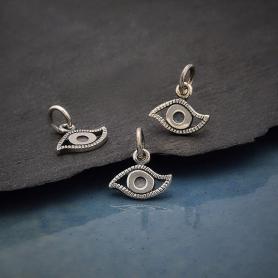 Sterling Silver Evil Eye Charm