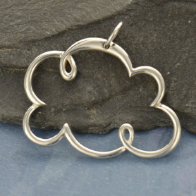 Sterling Silver Cloud Pendant