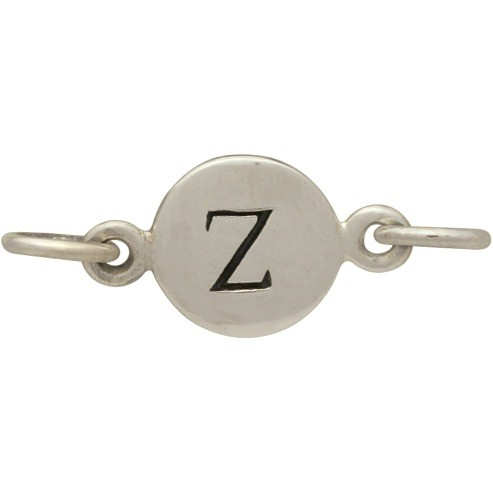Sterling Silver Initial Charm Links - Letter Z DISCONTINUED