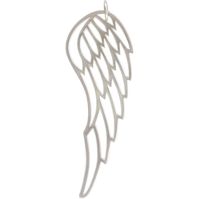 Sterling Silver Wing Pendant DISCONTINUED