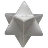 Sterling Silver Merkaba Post Earrings 6x6mm