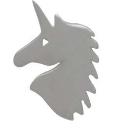 Sterling Silver Unicorn Post Earrings - Unicorn Jewelry