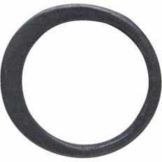 Sterling Silver Black Finish Half Hammered Circle Link 9mm