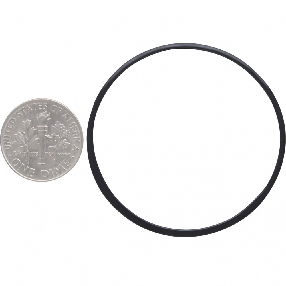 Sterling Silver Black Finish Half Hammered Circle Link 43mm