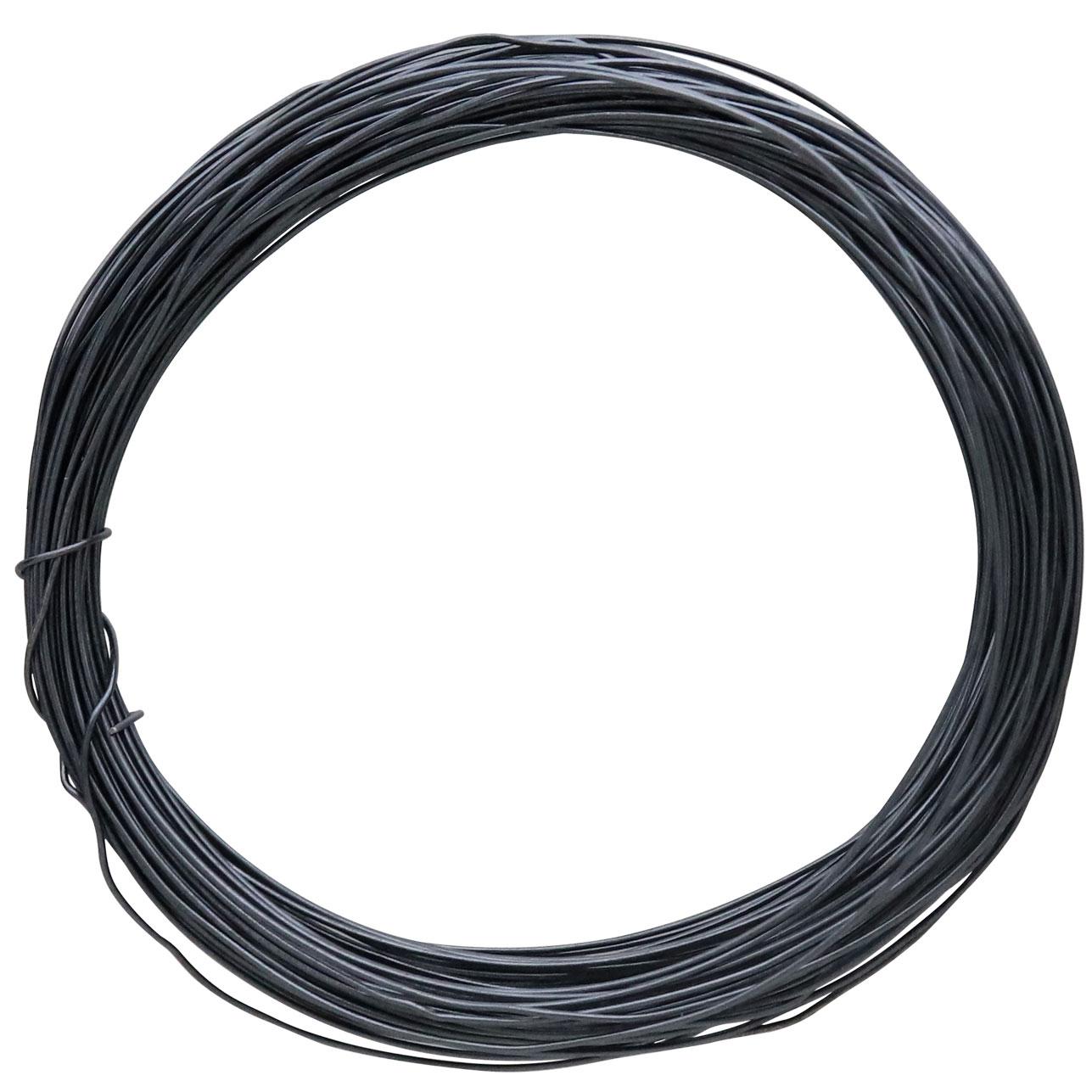 Black Oxidized Sterling Silver Dead Soft Wire .5oz 26 gauge