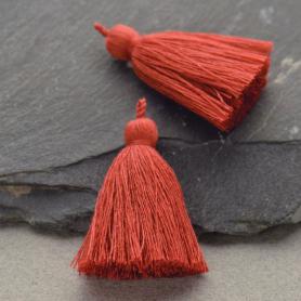 Cotton Tassel - Paprika Jewelry Tassel
