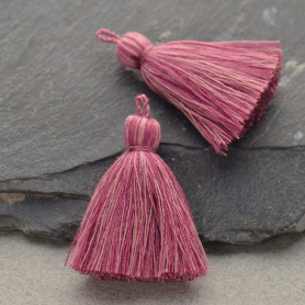 Cotton Tassel - Heather Rose Jewelry Tassel