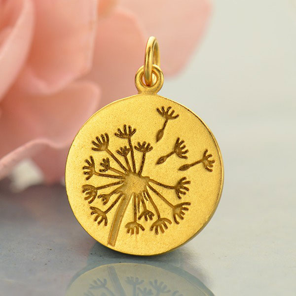 Gold-Plated Georgia State Pendant Bail Only