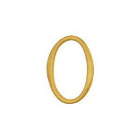 Jewelry Supplies - Small Oval Link in 24K Gold Plate 9x12mm