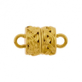 Barrel Shape Clasp with 24K Gold Plate DISCONTINUED