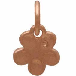 18K Rose Gold Plated Cherry Blossom Charm 11x7mm