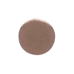 Rose Gold Dot Earrings in 18K Rose Gold Plate 6x6mm