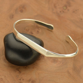 Sterling Silver Cuff Bracelet - Stamping Blank DISCONTINUED