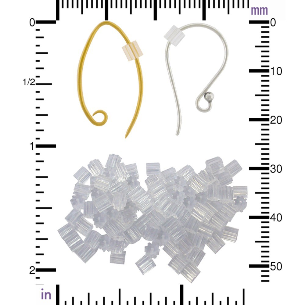Rubber Guards for Ear Wires - 144 pcs