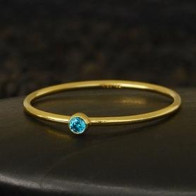 Gold Filled Ring - Birthstone Ring - September