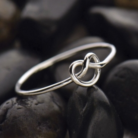 Sterling Silver Ring - Knot Ring DISCONTINUED