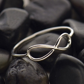 Sterling Silver Ring - Infinity Ring