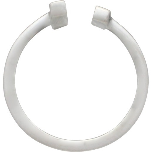 Sterling Silver Adjustable Ring - Bar Ring