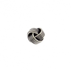 Sterling Silver Bead - Knot Spacer