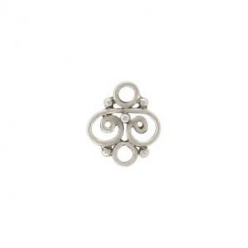 Jewelry Making Supplies - Wirework Silver Link 8x7mm