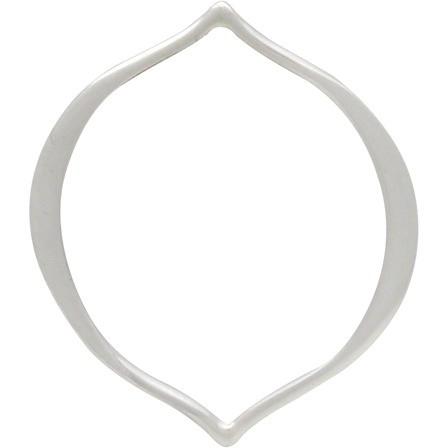 Sterling Silver Arabesque Links -20mm