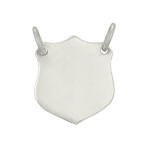 Silver Shield Stamping Blank Festoon DISCONTINUED