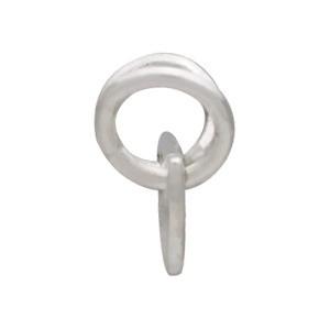 Small Flat Scallop Festoon Silver Pendant DISCONTINUED